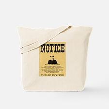 Bat Masterson Tote Bag