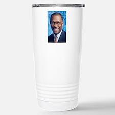 Herman Cain Stainless Steel Travel Mug