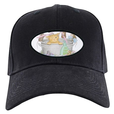 mice co cat wash baseball hat by housemousedesigns