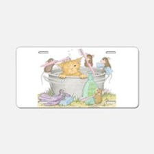 Mice Co Cat Wash Aluminum License Plate