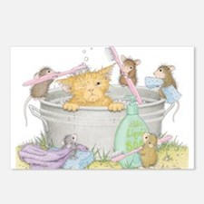 Mice Co Cat Wash Postcards (Package of 8)