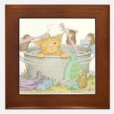 Mice Co Cat Wash Framed Tile