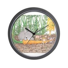 Garden Feast Wall Clock