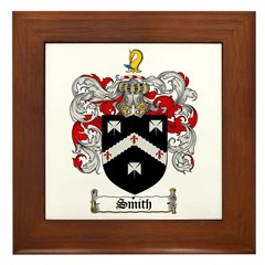 Smith Coat of Arms Framed Tile