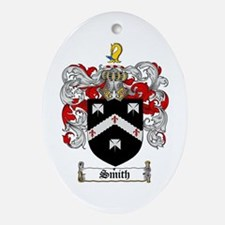 Smith Coat of Arms Oval Ornament