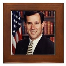 Rick Santorum Framed Tile