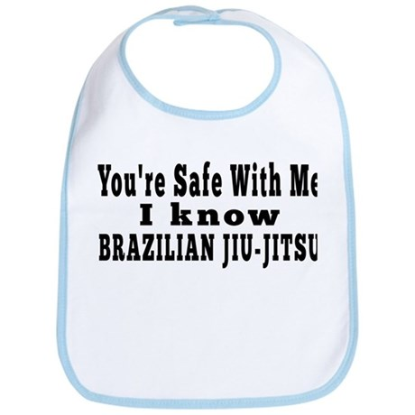 I Know Brazilian Jiu jitsu Bib