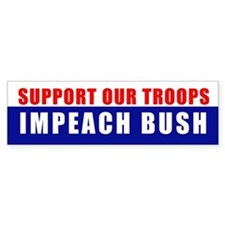 SUPPORT OUR TROOPS Bumper Bumper Sticker