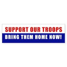 BRING THEM HOME NOW! Bumper Bumper Sticker