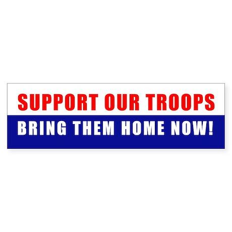 BRING THEM HOME NOW! Bumper Sticker