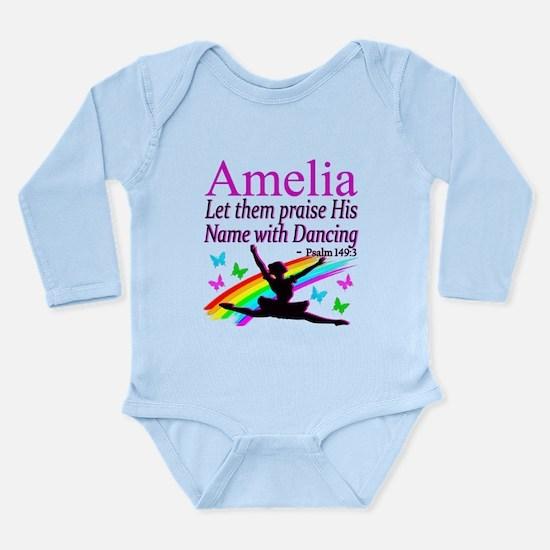 BEST DANCER Long Sleeve Infant Bodysuit