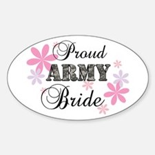 Army Bride [fl camo] Decal