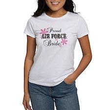 Air Force Bride [fl camo] Tee