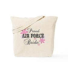 Air Force Bride [fl camo] Tote Bag