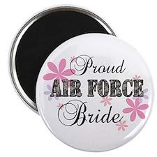 Air Force Bride [fl camo] Magnet