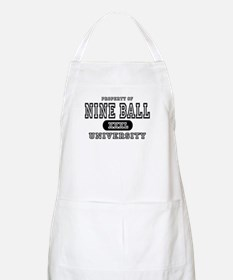 Nine Ball University BBQ Apron
