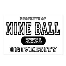 Nine Ball University Postcards (Package of 8)