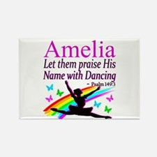 BEST DANCER Rectangle Magnet