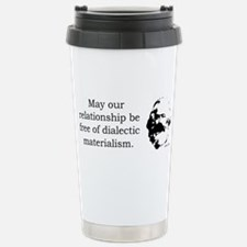 Karl Marx Relationship Humor Travel Mug