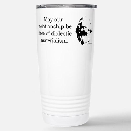 Karl Marx Relationship Humor Travel Mug
