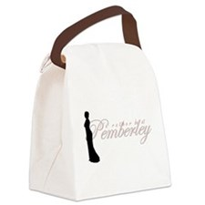pemberley.png Canvas Lunch Bag