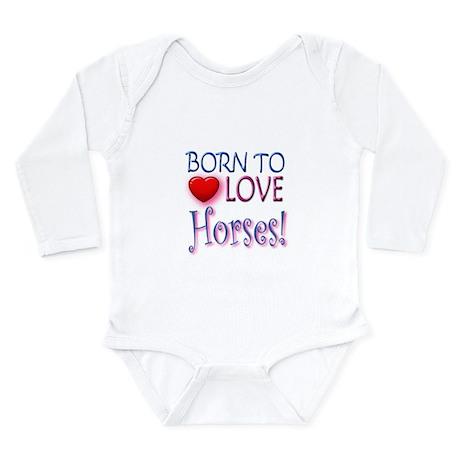 Born To Love Horses! Body Suit