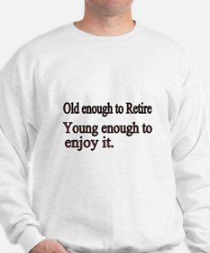 Old enough to Retire Jumper