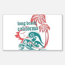 Wavefront Long Beach Decal
