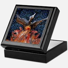 Phoenix Rising Keepsake Box