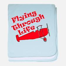 Flying Through Life baby blanket