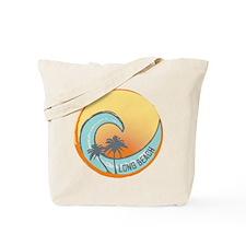 Long Beach Sunset Crest Tote Bag