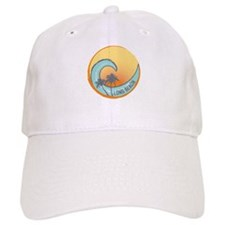 Long Beach Sunset Crest Baseball Baseball Cap