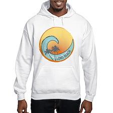 Long Beach Sunset Crest Hoodie