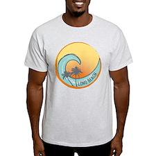 Long Beach Sunset Crest T-Shirt