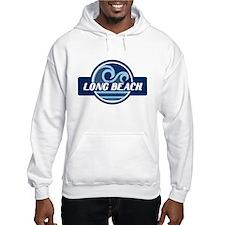 Long Beach Blue Wave Badge Hoodie