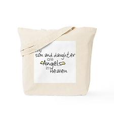 Son/Daughter Angels Tote Bag