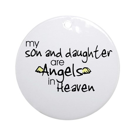 Son/Daughter Angels Ornament (Round)