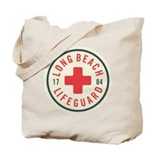 Long Beach Lifeguard Badge Tote Bag