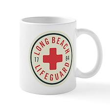 Long Beach Lifeguard Badge Mug