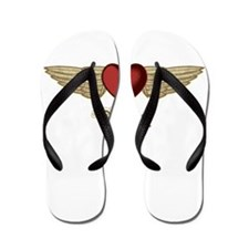 Valeria the Angel Flip Flops