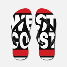west coast red Flip Flops
