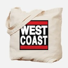 west coast red Tote Bag