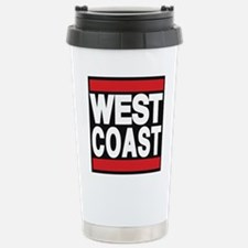 west coast red Travel Mug