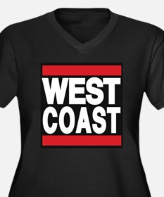 west coast red Plus Size T-Shirt