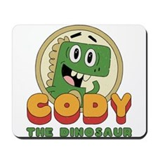 Cody the Dinosaur Mousepad
