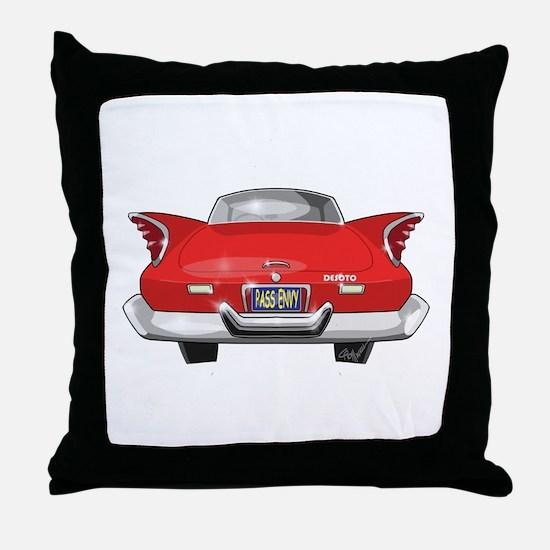 1960 DeSoto Throw Pillow