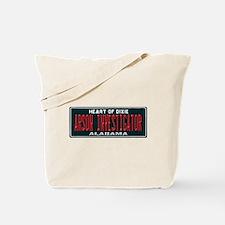 Alabama Arson Investigator Tote Bag