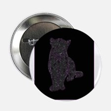 """Purple Spots on Black Panther 2.25"""" Button (10 pac"""