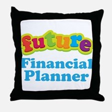 Future Financial Planner Throw Pillow