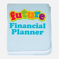 Future Financial Planner baby blanket